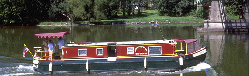 Unique boating on the Erie Canal